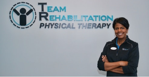 Ursula Booth, owner and physical therapy specialist at Team Rehab Indianapolis-Northwest