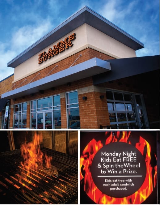 Flame Burger Whitestown location