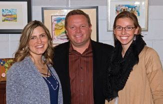 Carmel-Carmel Youth Assistance Program. Left to right ( MKelanie Lentz (ex-officio, CYAP board member), Guenter Haines (President of CYAP), and Maggie Figge (Intervention Advocate for CYAP. )