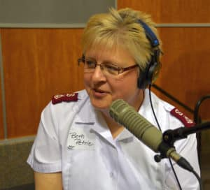 Major Beth Petrie Salvation Army