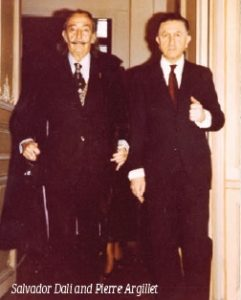 Salvador Dali and Pierre Argillet