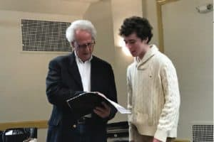 Ashton and Benjamin Zander, music director of the Boston Philharmonic Orchestra and Boston Philharmonic Youth Orchestra