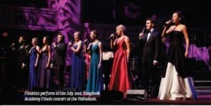 Finalists perform in the July 2016 Songbook Academy Finals concert at the Palladium.