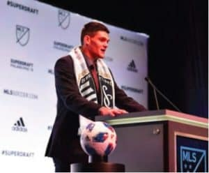 Eric Dick: From Carmel Dad's Club to MLS First-Round Pick