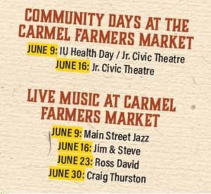Volunteers are The Heart of the Carmel Farmers Market