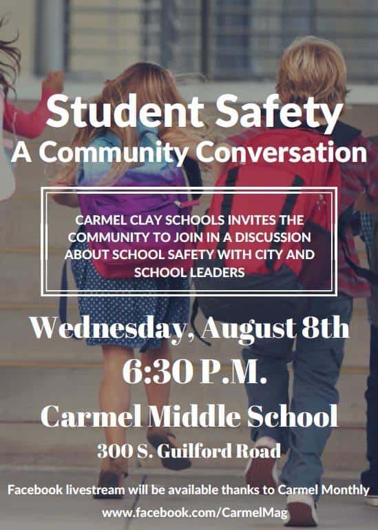 Carmel Clay Schools Announces Safety Forum With Live Stream