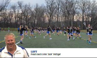 Ladies' Varsity Lacrosse Exceeds Expectations