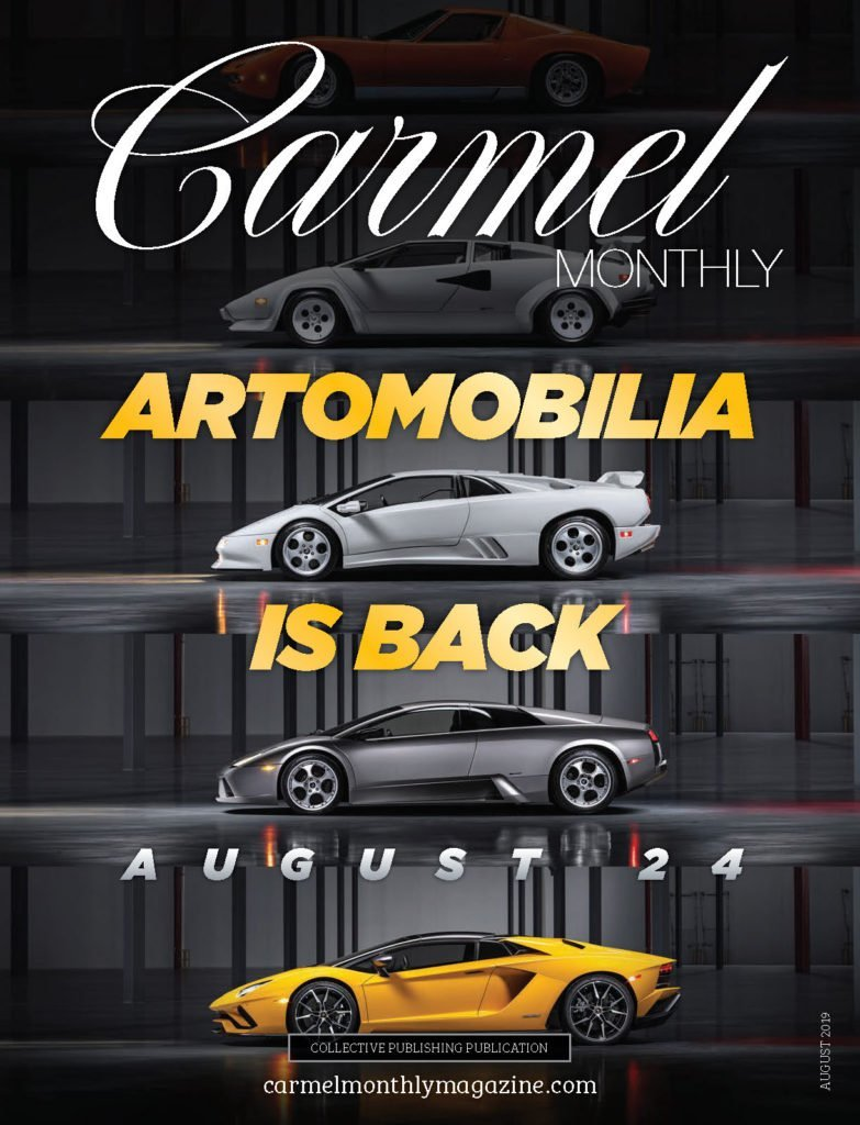Carmel Monthly magazine August 2019 Cover