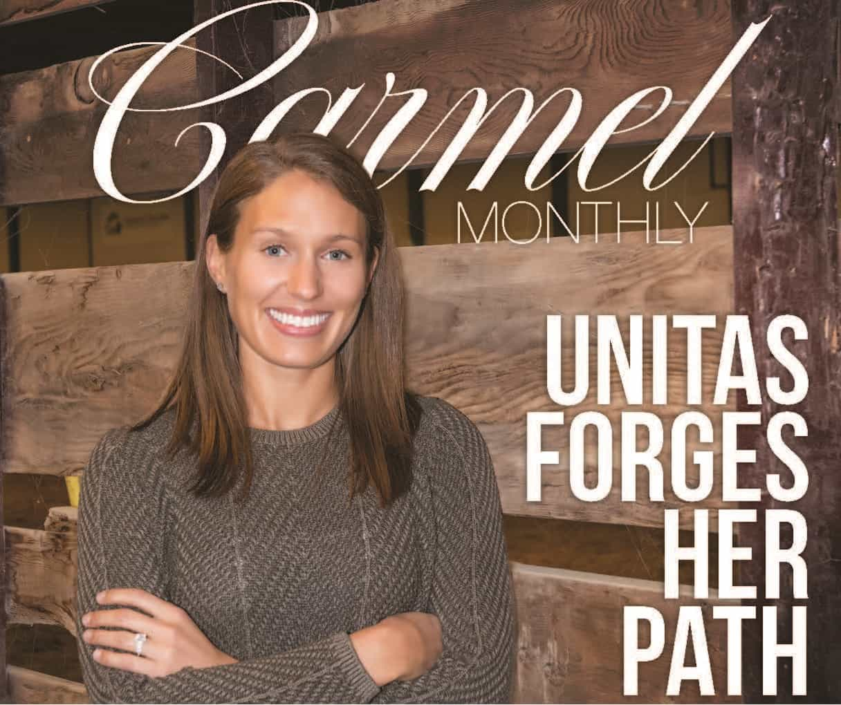 Unitas forges her path and keeps the family's legacy