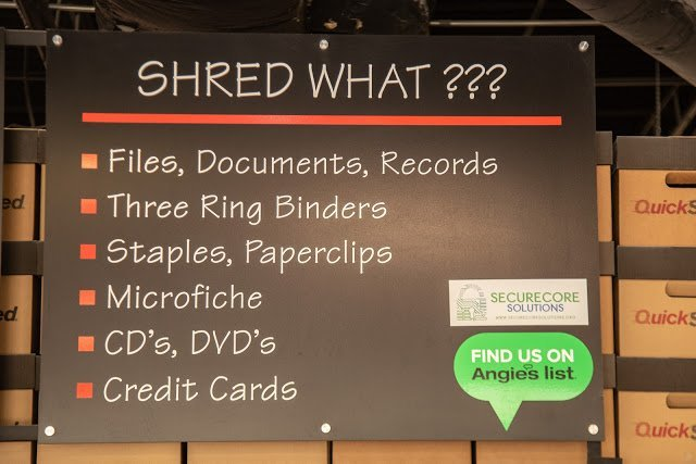 QuickShred: Helping to Protect You