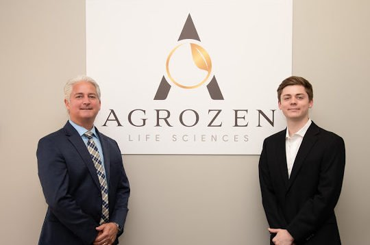 Agrozen Life Sciences Co-Founders Brian and Austin Schroeder