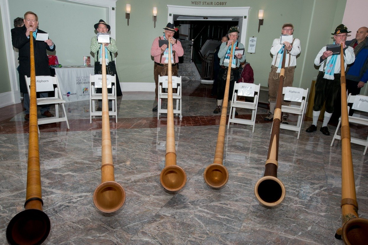 Musicians to Visit Schools to Share Love of the Alphorn Sponsored by Carmel Christkindlmarkt