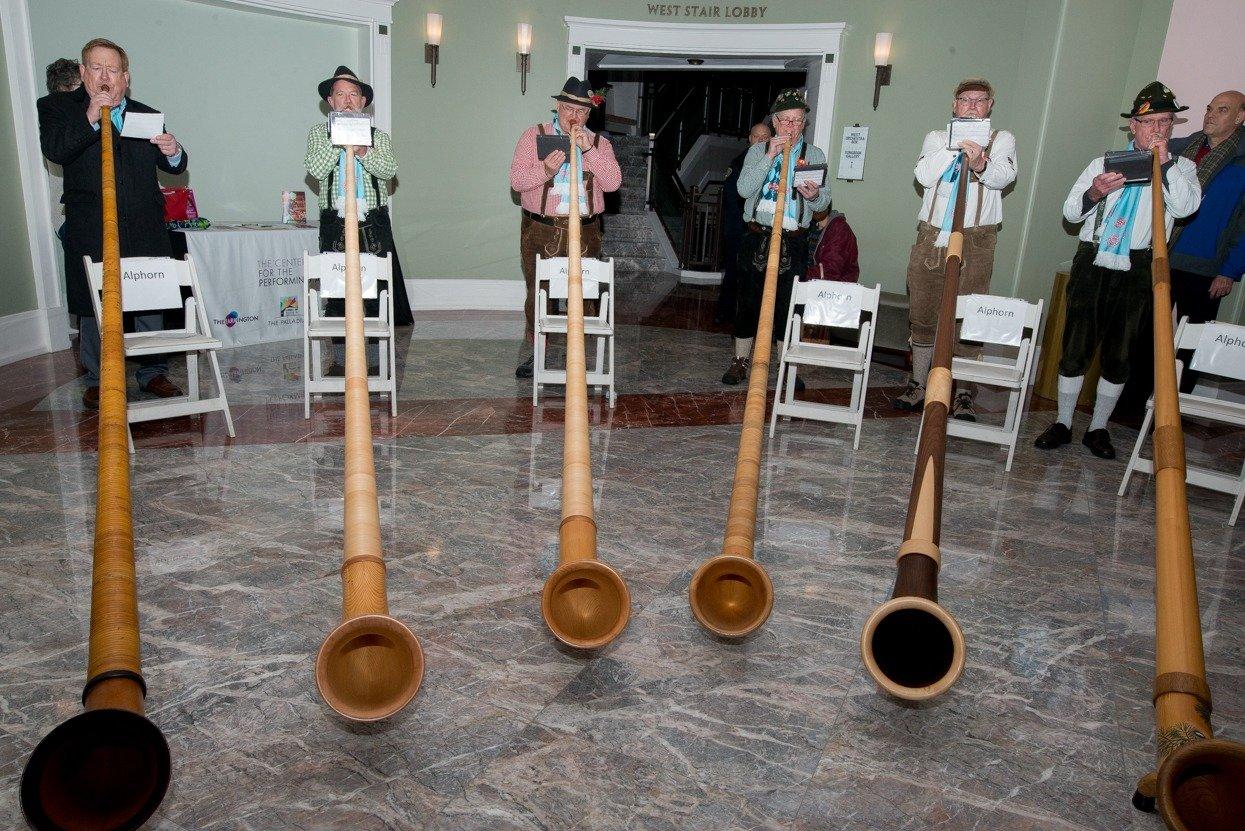Musicians to Visit Schools to Share Love of the Alphorn Sponsored by Carmel Christkindlmarkt